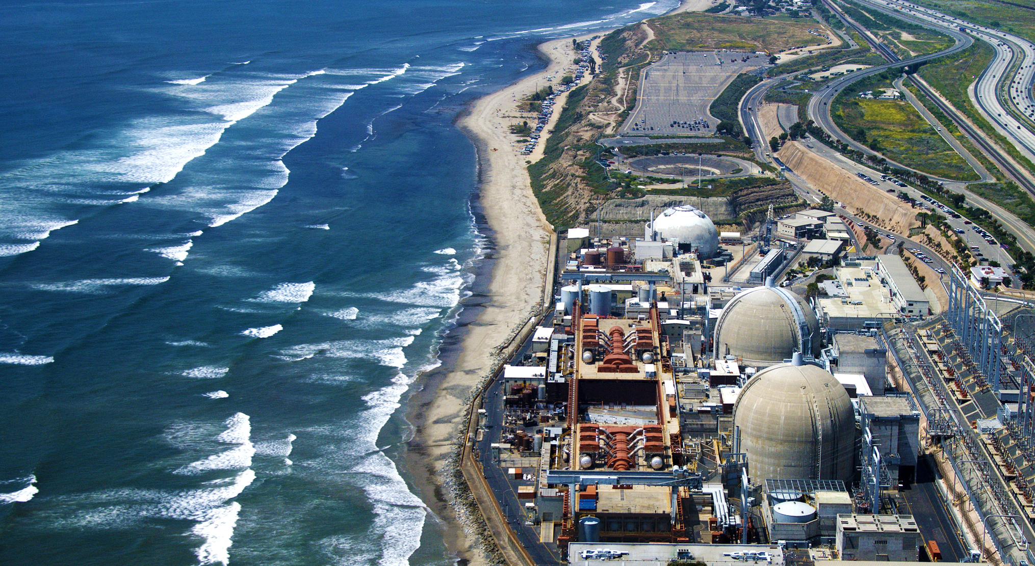 San Onofre Nuclear Generating Station - Aerial View